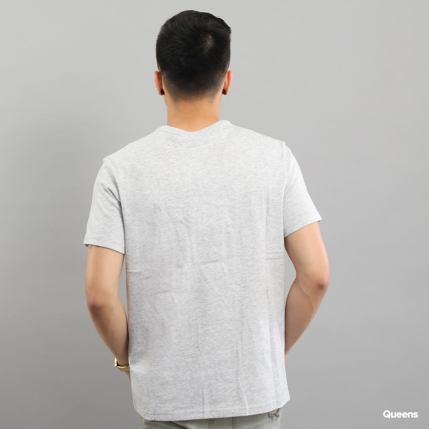 Champion Crewneck T-Shirt grau melange