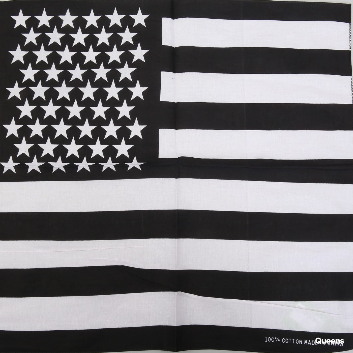 MD Bandana Stars & Stripes black / white
