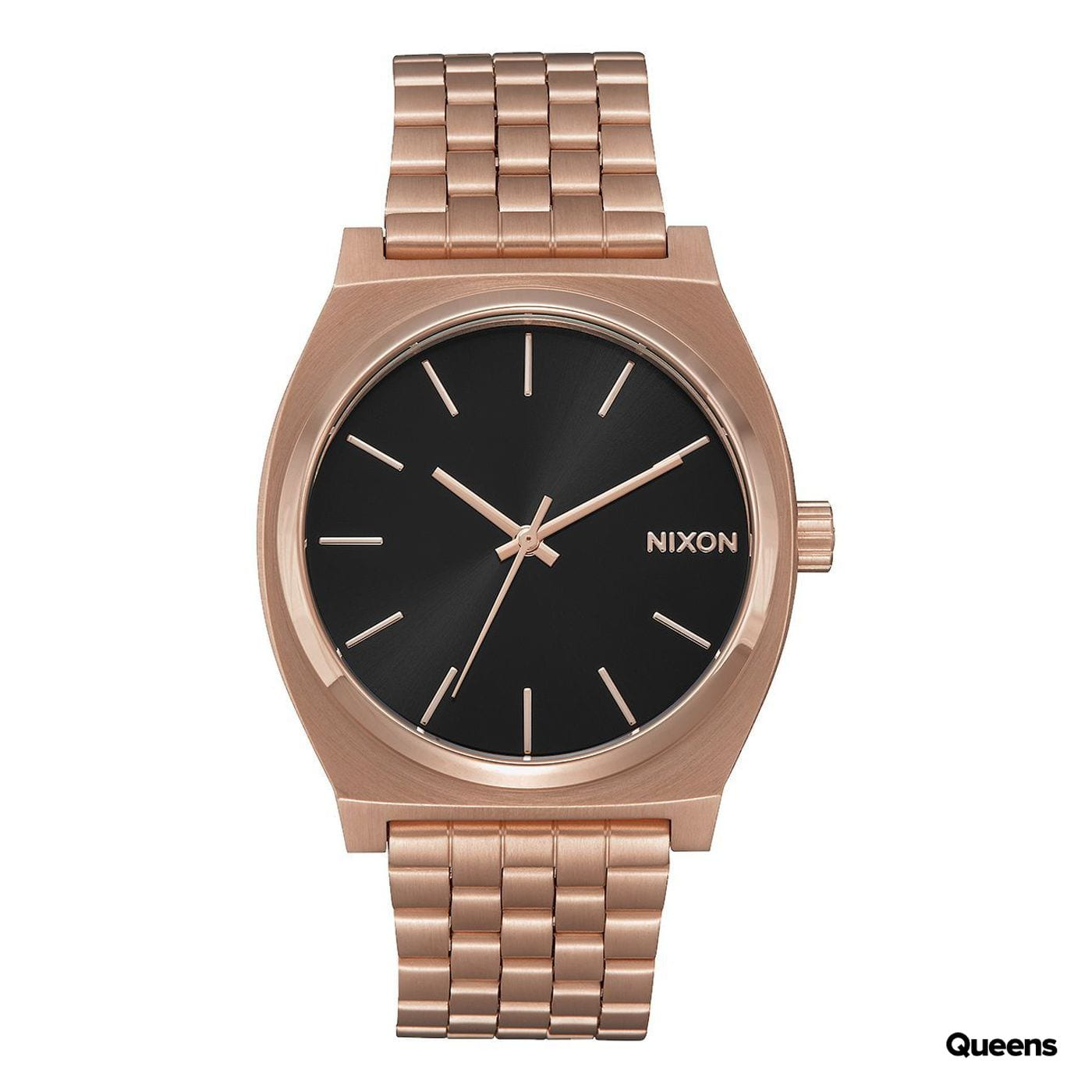 Nixon Time Teller roségold / schwarz