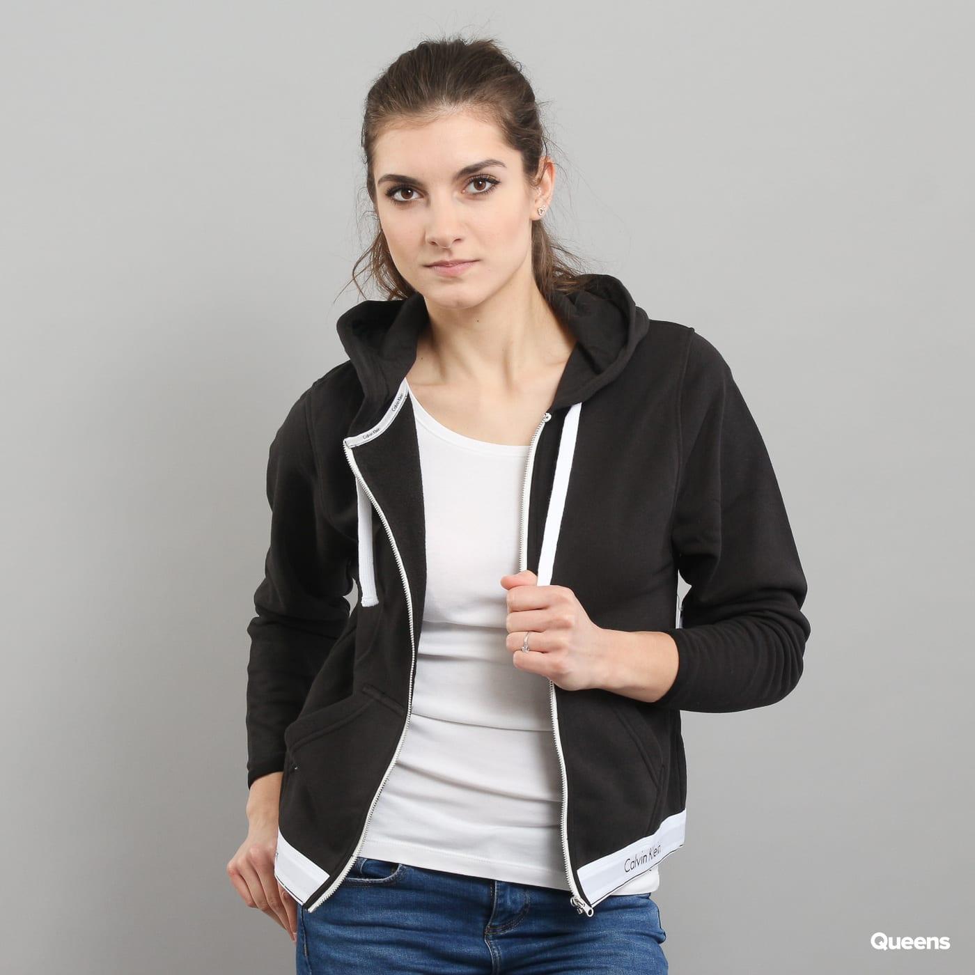 557e9ac32 Dámská mikina Calvin Klein Top Hoodie Full Zip C/O (QS5667E-001) – Queens 💚