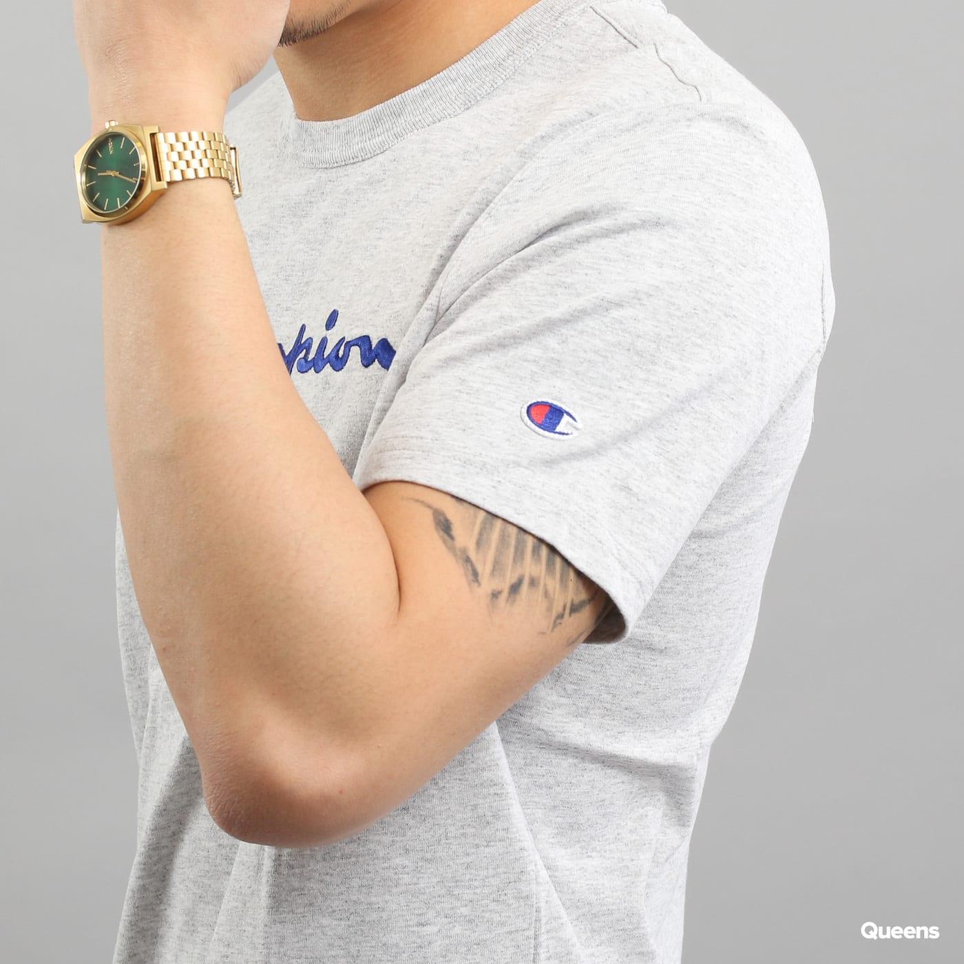 Champion Crewneck T-Shirt melange gray