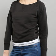 Calvin Klein Top Sweatshirt Long Sleeve C/O schwarz
