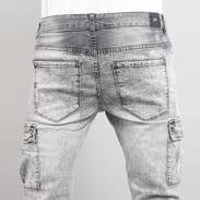 Sixth June Biker Cargo Jeans grey