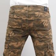 Sixth June Denim Cargo Pants camo zelené