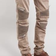 Sixth June Biker Jeans beige