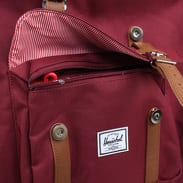 The Herschel Supply CO. Little America Backpack vínový / hnědý