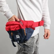 The Herschel Supply CO. Eighteen Hip Pack navy / červená