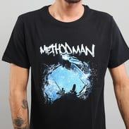 WU WEAR Method Man Tee čierne / modré