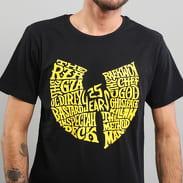 WU WEAR 25 Years Tee černé / žluté