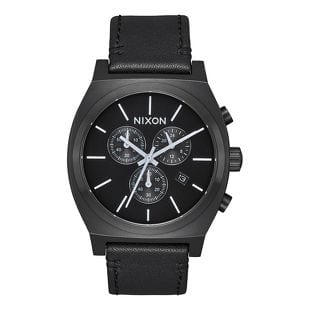 Nixon Time Teller Chrono Leather