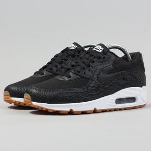 Nike Wmns Air Max 90 PRM (Black Black Gum Yellow White)
