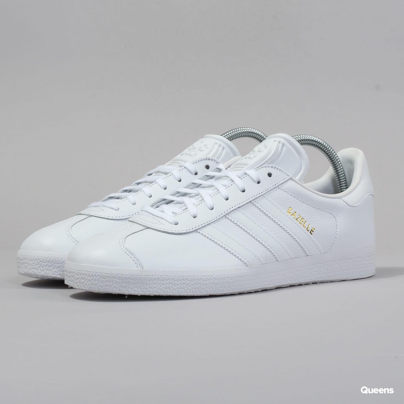 adidas Originals Gazelle ftwwht / ftwwht / goldmt