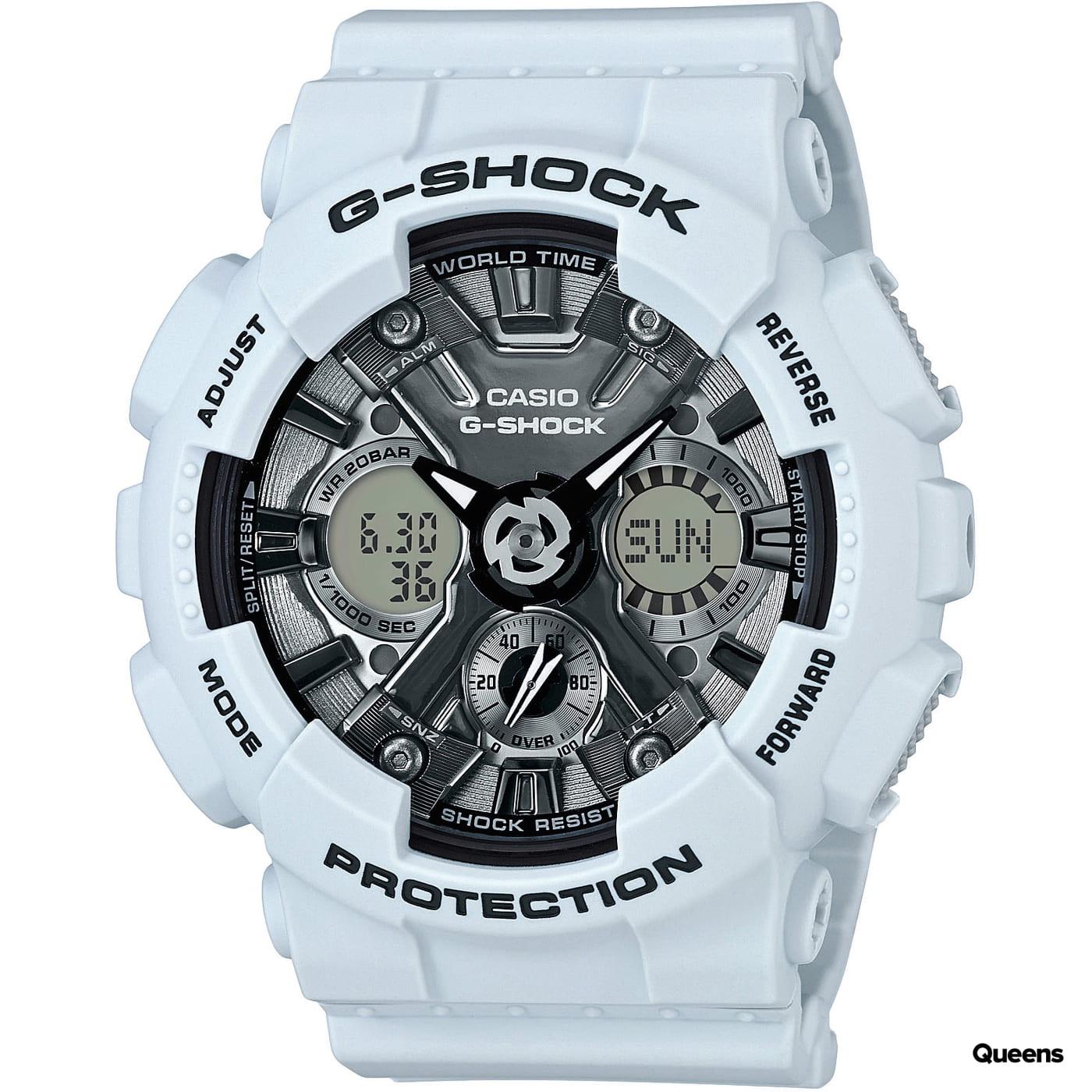 Casio G-Shock GMA S120MF-2AER svetlošedé