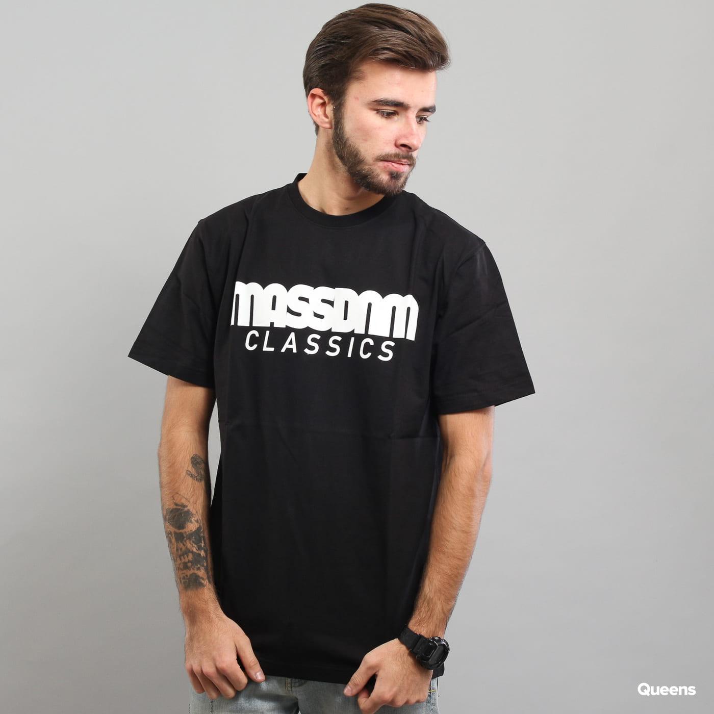Mass DNM Classics Tee schwarz