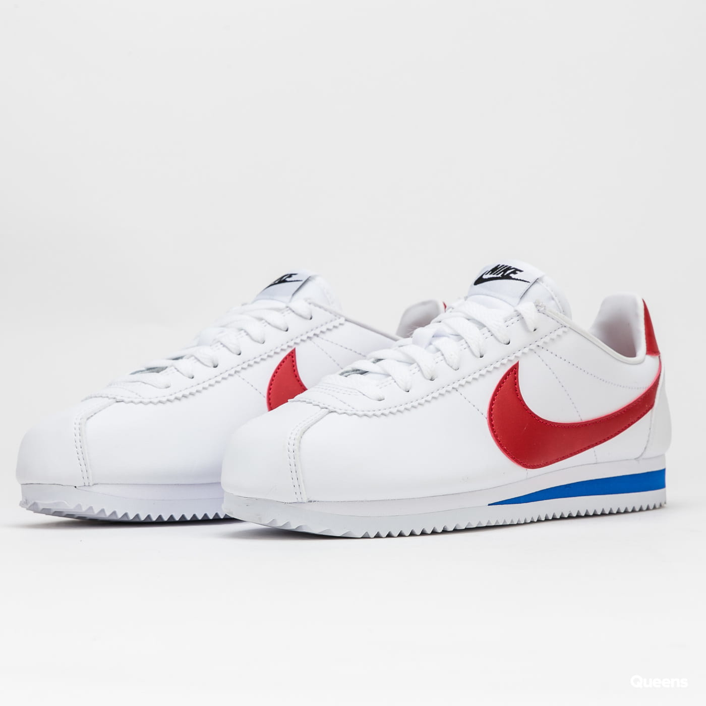 wholesale dealer 4b6f8 a6506 Nike WMNS Classic Cortez Leather white / varsity red