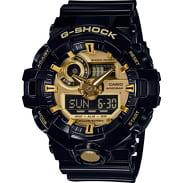 Casio G-Shock GA 710GB-1AER čierne / zlaté
