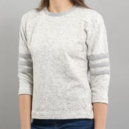 adidas PE 3/4 Sweater melange světle šedá