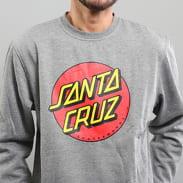 Santa Cruz Classic Dot Crew grey melange