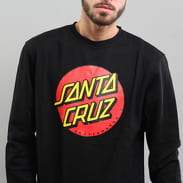 Santa Cruz Classic Dot Crew černá