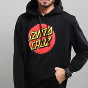 Santa Cruz Classic Dot Hoody čierna
