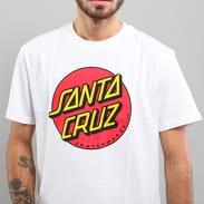 Santa Cruz Classic Dot Tee bílé