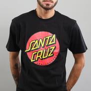 Santa Cruz Classic Dot Tee černé