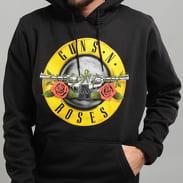 Urban Classics Guns n' Roses Logo Hoody čierna