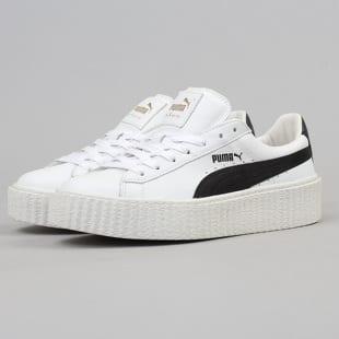 online store de56d fbba9 Puma Creeper White & Black puma white - black - puma white ...