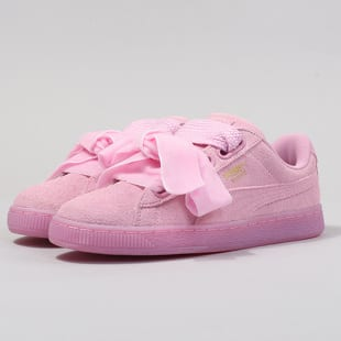 online retailer 70097 8b3f8 Puma Suede Heart Reset Wn's prism pink - prism pink