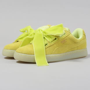 cheap for discount ca513 0bd74 Puma Suede Heart Reset Wn's soft fluo yellow