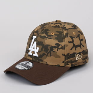 New Era 3930 Camo Team Stretch LA