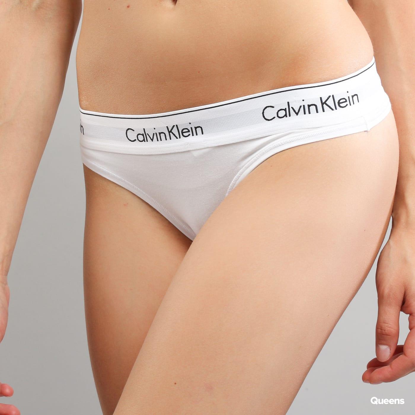 Bílé dámské spodní prádlo Calvin Klein – Queens 💚 532a128246
