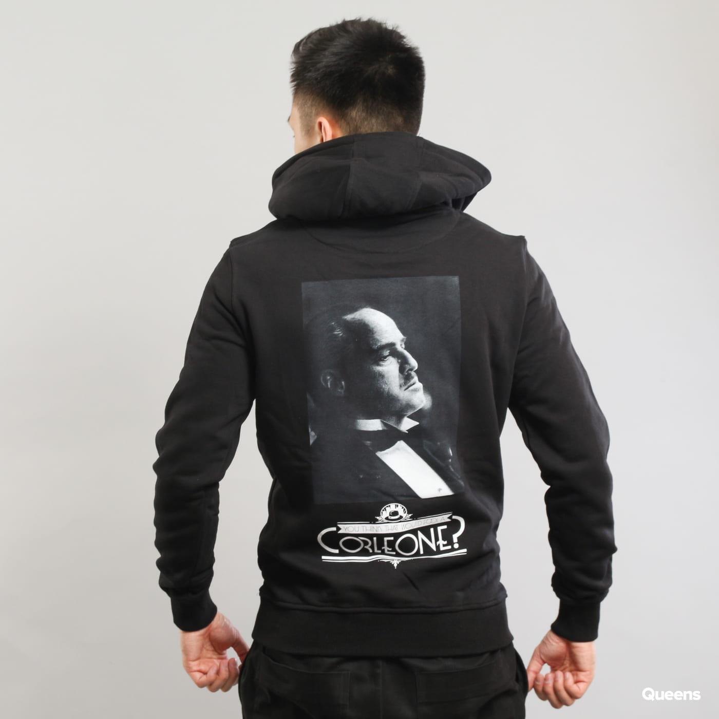 Urban Classics Godfather Corleone Hoody čierna