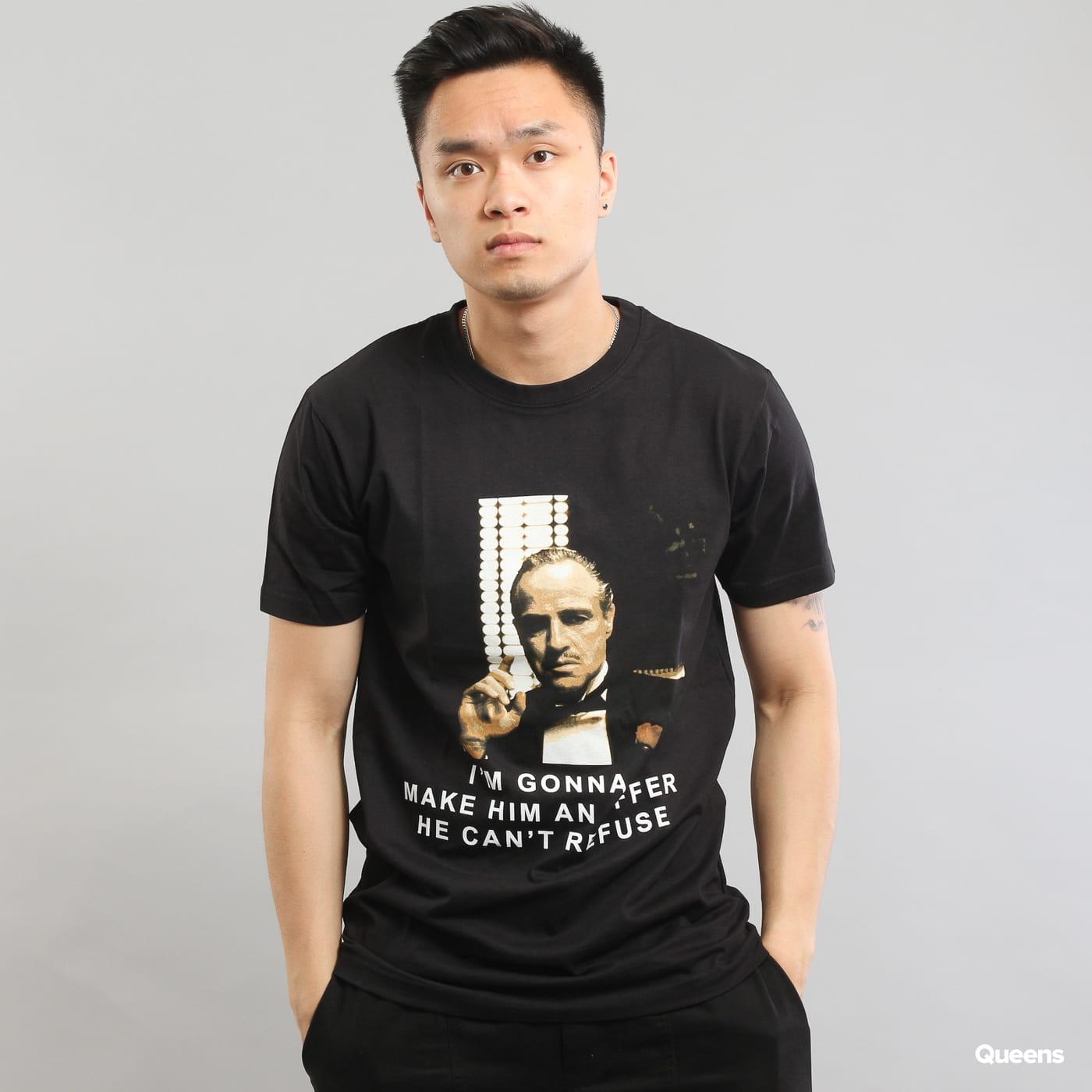 Urban Classics Godfather Refuse Tee schwarz