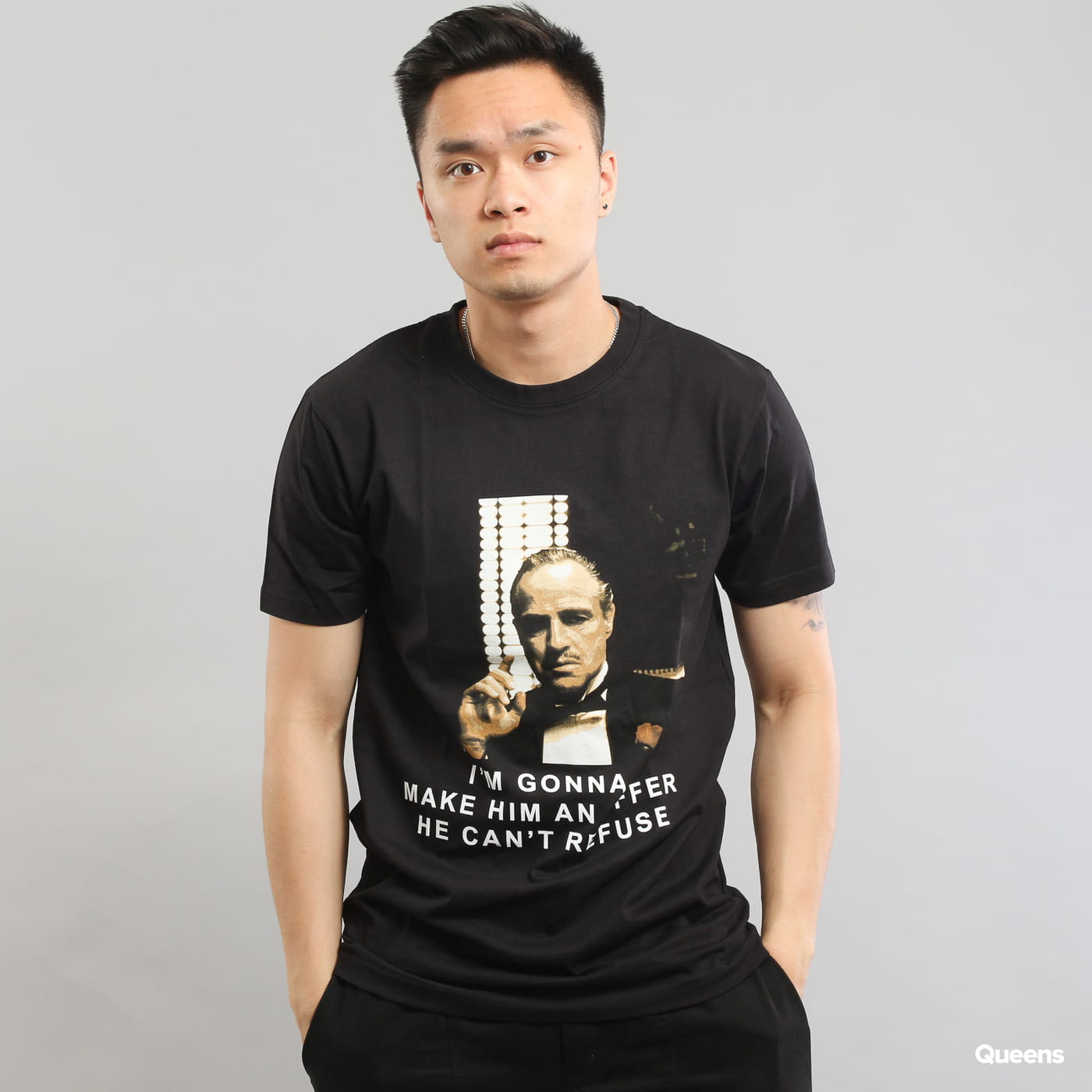 Urban Classics Godfather Refuse Tee čierne
