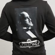 Urban Classics Godfather Corleone Hoody černá