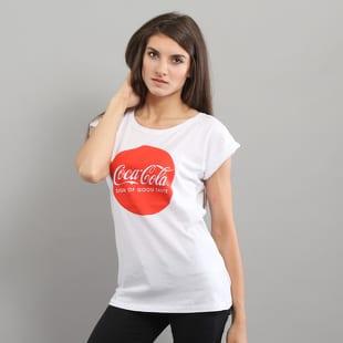 Urban Classics Ladies Coca Cola Round Logo Tee