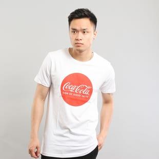 Urban Classics Coca Cola Round Logo Tee