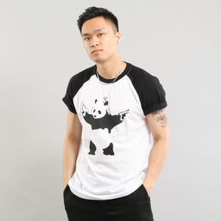 Urban Classics Banksy Panda Raglan Tee