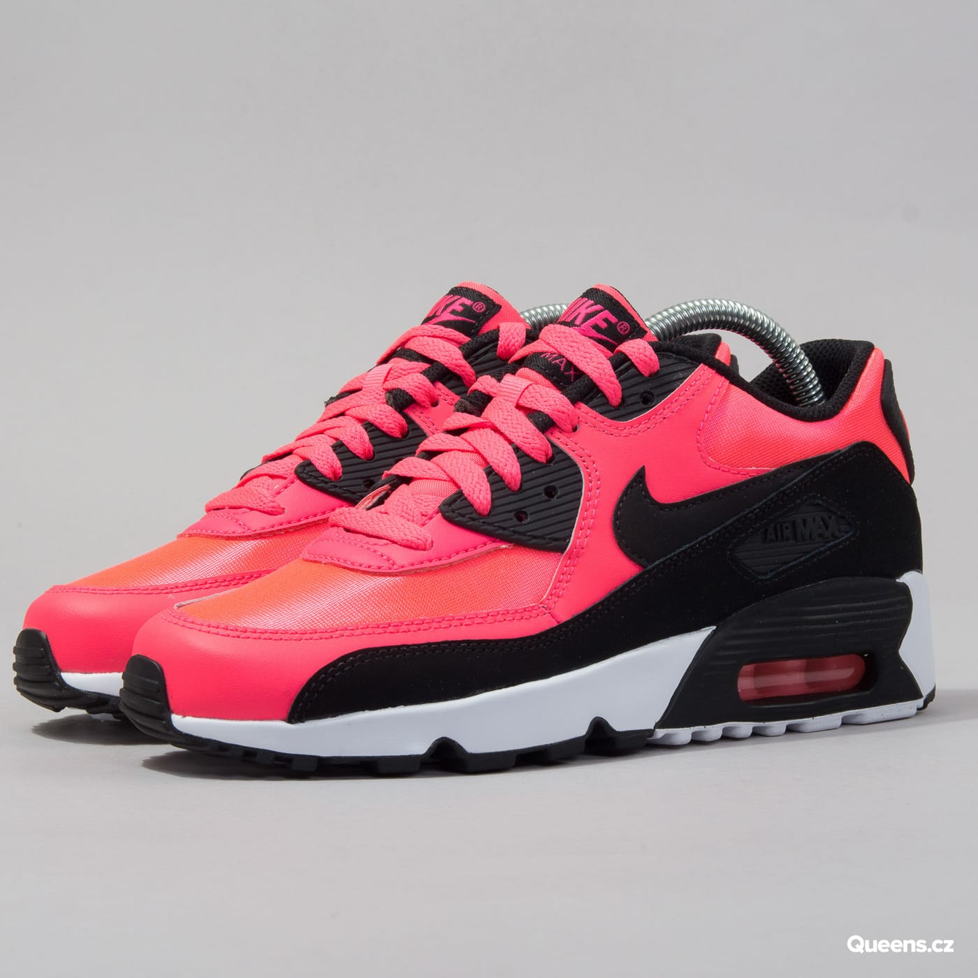 new arrival ab122 ca46f Nike Air Max 90 Mesh (GS) racer pink / black - white