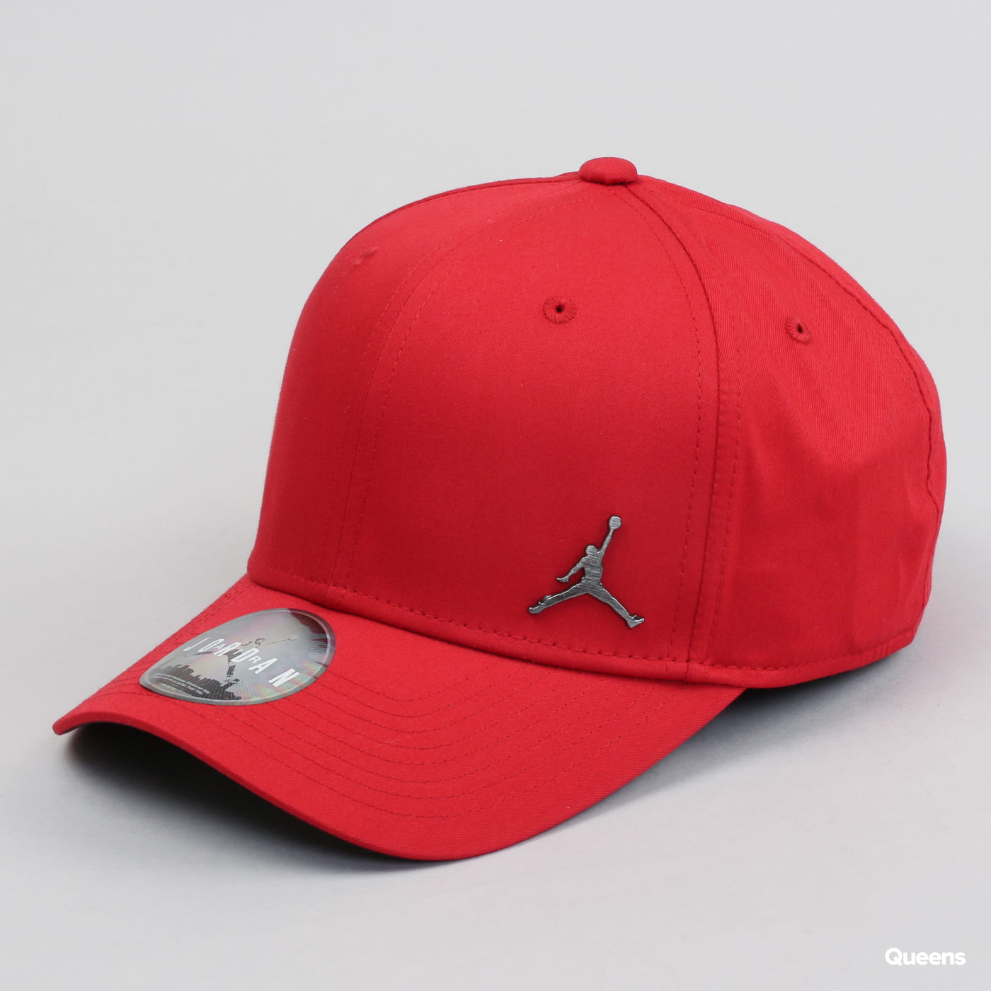 the latest e2ba7 6d452 Hat Jordan CLC99 Metal Jumpman red   black (899657-687) – Queens 💚