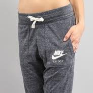 Nike W NSW Gym VNTG Pant melange tmavě šedé