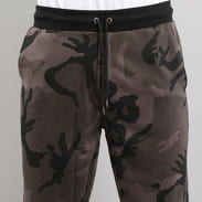 Urban Classics Camo Sweat Pants camo tmavě šedé
