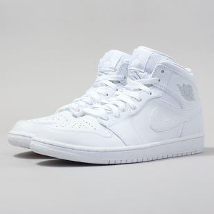 809f237623d Air Jordan 1 Mid white   pure platinum - white