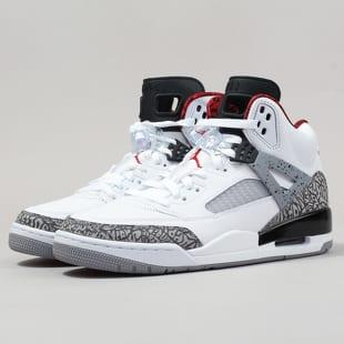 Air Jordan Spizike white   varsity red - cement grey e453049443