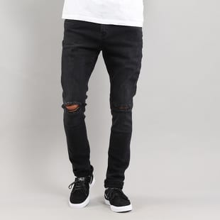 d24a7f1e141 Urban Classics Slim Fit Knee Cut Denim Pant