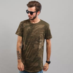 Urban Classics Camo Shaped Long Tee