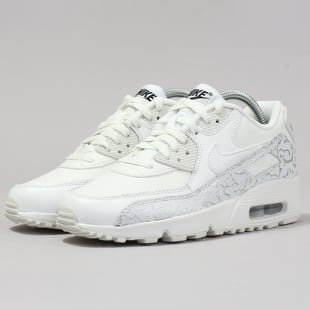 separation shoes 924bf 33149 Nike Air Max 90 Leather SE GG summit white   summit white