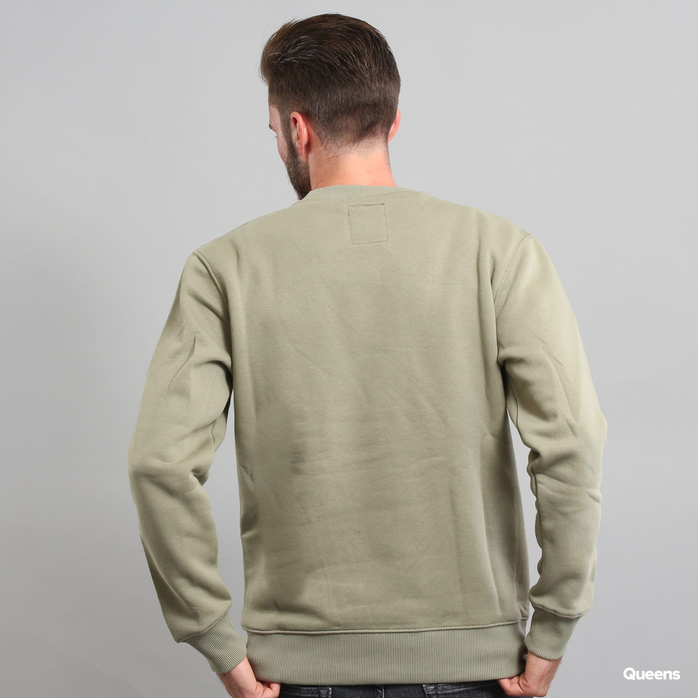Alpha Industries Basic Sweater olivová