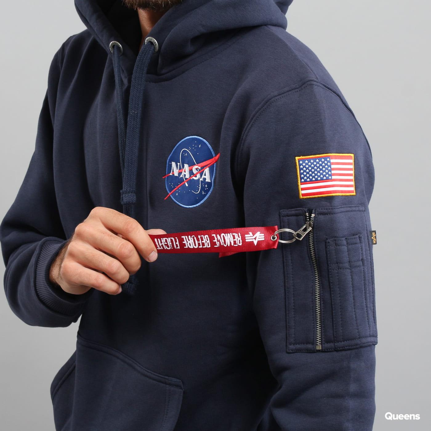 Alpha Industries Space Shuttle Hoody navy